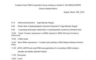 MicroRNA in myelodysplastic syndrome